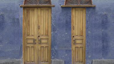 A porta larga e a porta estreita